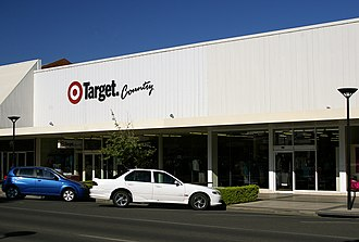 Target Australia - A Target Country store formerly Fossey's store in Wagga Wagga, New South Wales.