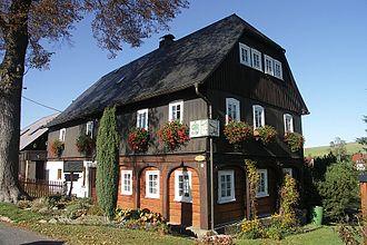 Upper Lusatian house - Umgebindehaus in Taubenheim