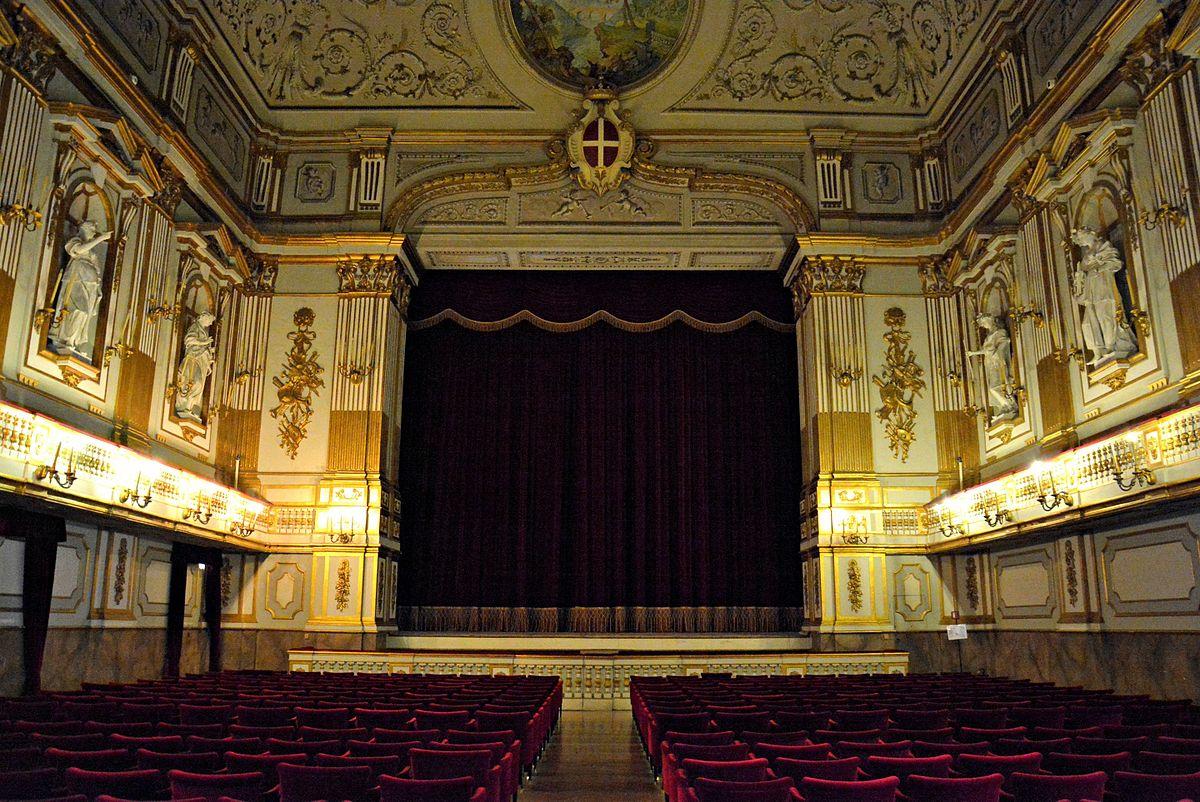 Teatrino di corte napoli wikipedia for Planimetrie del palazzo con sala da ballo