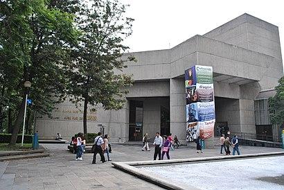 Cómo llegar a Teatro Juan Ruíz De Alarcón en transporte público - Sobre el lugar