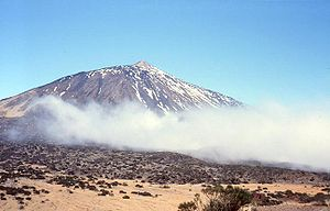 Guayota - Mount Teide on Tenerife. According to mythology was the home of Guayota.