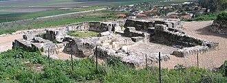 Yokneam Moshava - Tel Yokneam archaeological site.