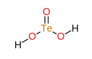Tellurous acid - Image: Tellurous Acid
