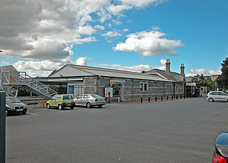 Tenby railway station - Image: Tenby Station geograph.org.uk 1476816