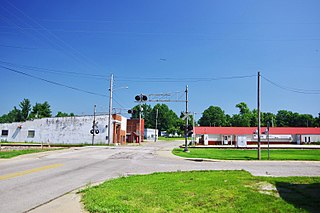 Tennyson, Indiana Town in Indiana, United States