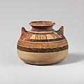 Terracotta alabastron (jar) MET DP121147.jpg