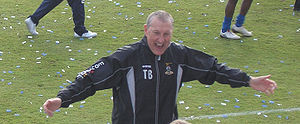 Terry Butcher - Butcher as Inverness Caledonian Thistle manager in 2010