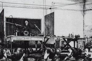 World Wireless System - Image: Tesla Wireless Power 1891
