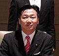 Tetsuro Fukuyama cropped 2 Members of the Global Legislators Organization for a Balanced Environment Edward Davey and Tim Hitchens 20130530.jpg