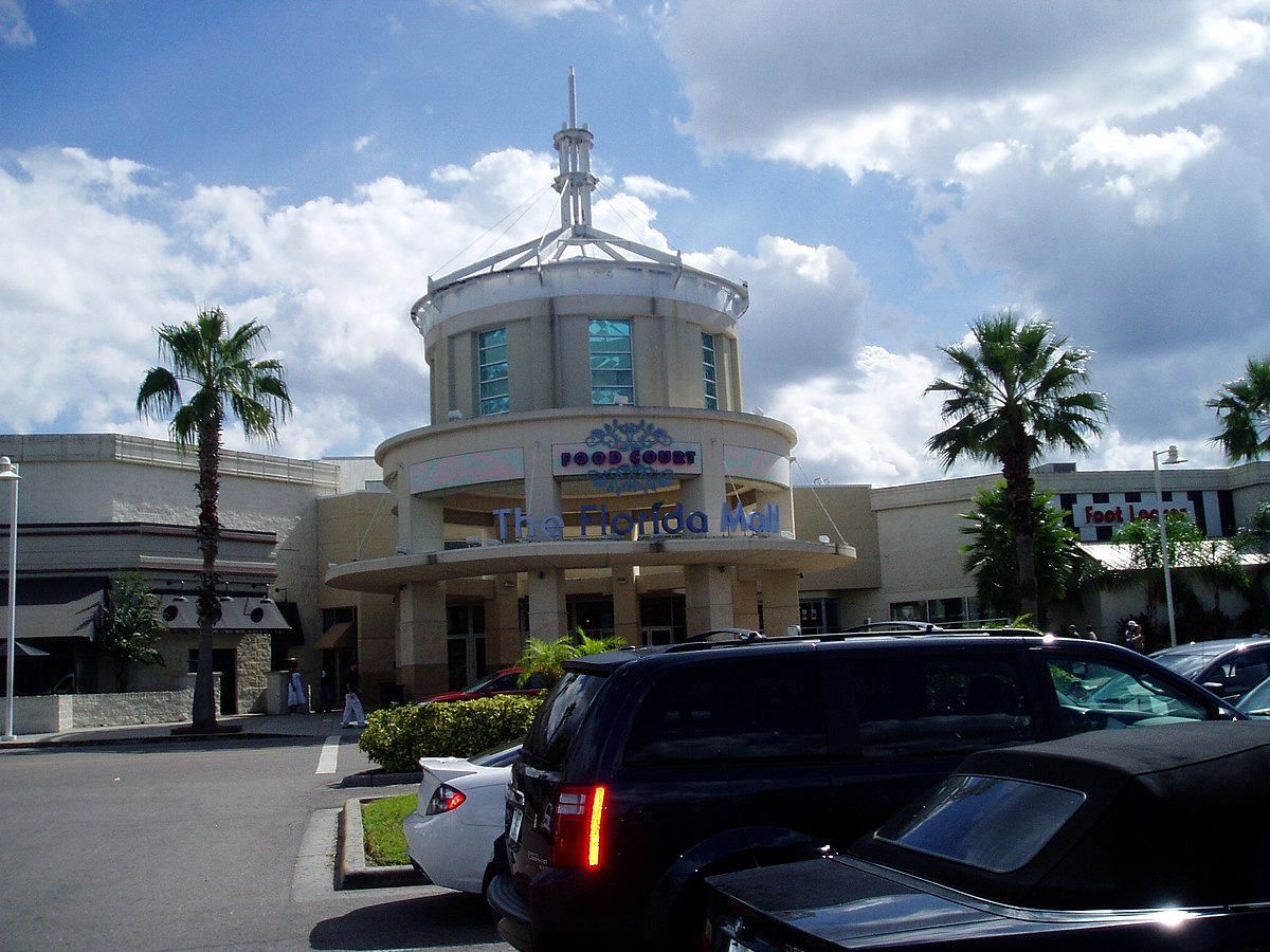 The Florida Mall Wikipedia - Florida mall map