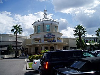 The Florida Mall - One of the mall's entrances