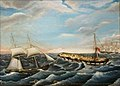 The 'Harriet' rescuing passengers of the 'Unicorn', Newfoundland, ca. 1851 100372.jpg