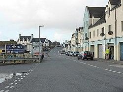 The A865 road through Lochboisdale (geograph 4245080).jpg