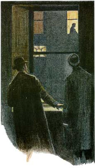 The Adventure of the Empty House - 1903 illustration by Sidney Paget