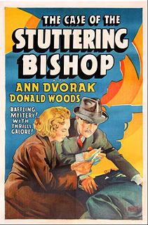 <i>The Case of the Stuttering Bishop</i> 1937 film
