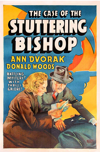 "Perry Mason - Donald Woods portrayed Perry Mason in the Warner Bros. film, ""The Case of the Stuttering Bishop"" (1937)"