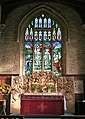 The Chancel window, St Andrew's Church, Denton - geograph.org.uk - 603762.jpg