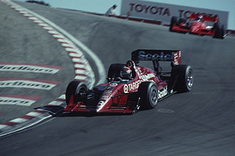 Chip Ganassi Racing - Eddie Cheever at Laguna Seca in 1991.