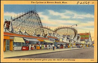 Cyclone (Revere Beach) former roller coaster