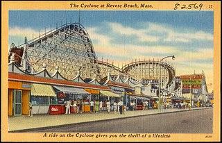 Cyclone (Revere Beach) former roller coaster