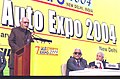 The Deputy Prime Minister Shri L.K. Advani speaking at the inauguration of the '7th Auto Expo 2004' in New Delhi on January 15, 2004.jpg