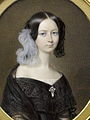 The Dowager Duchess of Orléans (Hélène de Mecklembourg-Schwerin) in mourning, circa 1842.jpg