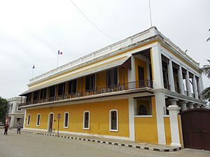 Pondicherry - The French consulate in Pondicherry.