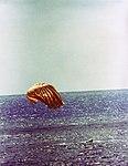 The Gemini-11 spacecraft touches down in the Atlantic Ocean.jpg