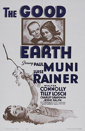The Good Earth (film) - Image: The Good Earth (1937) poster