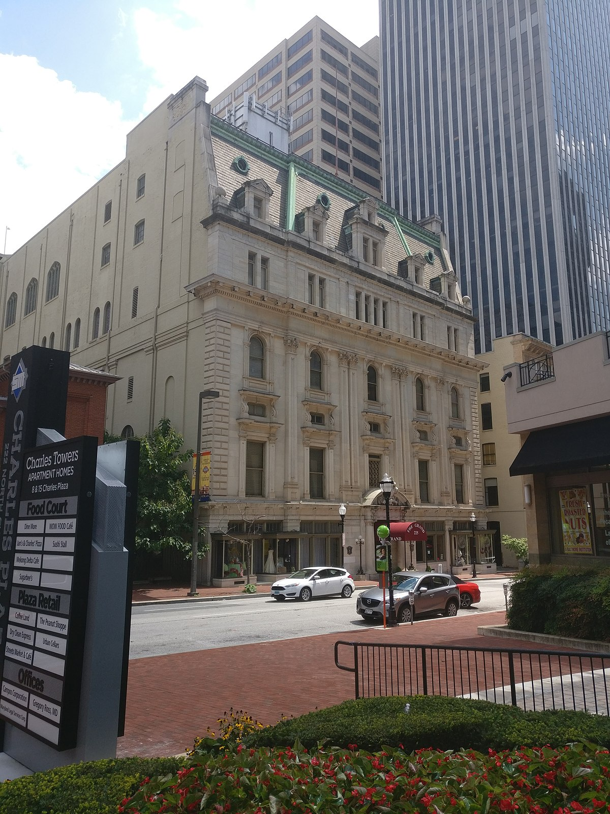 Renaissance Hotel Baltimore Room Service Menu