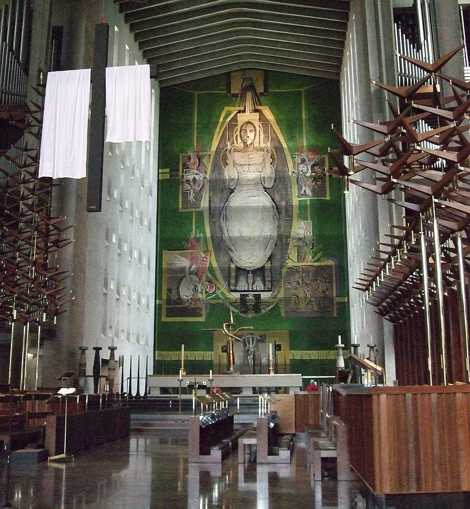 File The High Altar And Tapestry Coventry Cathedral Crop