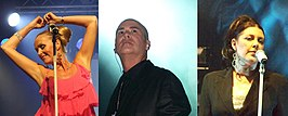 The Human League 2007. Susan Ann Sulley, Philip Oakey, Joanne Catherall