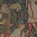 The Hunters Enter the Woods (from the Unicorn Tapestries) MET DP100994.jpg
