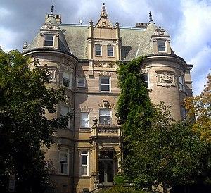 Massachusetts Avenue (Washington, D.C.) - The Miller House, a contributing property to the Massachusetts Avenue Historic District