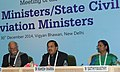The Minister of State for Culture (Independent Charge), Tourism (Independent Charge) and Civil Aviation, Dr. Mahesh Sharma addressing at the meeting of CMs LGs (1).jpg