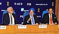 The Minister of State for Housing and Urban Affairs (IC), Shri Hardeep Singh Puri holding a press conference to Announce the Smart Cities and Commencement of the Liveability Index program, in New Delhi.jpg