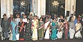 The Padma awardees after receiving the awards at Rashtrapati Bhawan, in New Delhi on March 20, 2006.jpg