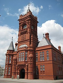 The Pierhead Building, Cardiff Bay - geograph.org.uk - 852953.jpg