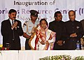 The President, Smt. Pratibha Devisingh Patil inaugurating the Indian Workers Resource Centre, at India Club, in Dubai on November 23, 2010.jpg