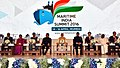 The Prime Minister, Shri Narendra Modi at the Maritime India Summit, in Mumbai.jpg