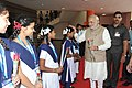 The Prime Minister, Shri Narendra Modi meeting the students on his arrival at the Mission Control Centre, at Sriharikota, in Andhra Pradesh on June 30, 2014.jpg