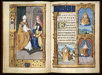 Primer of Claude of France - Image: The Primer of Claude of France Fitzwilliam Museum, MS 159, pp. 1 2