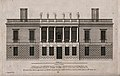 The Queens' House, Greenwich; the southern elevation, with a Wellcome V0013359.jpg