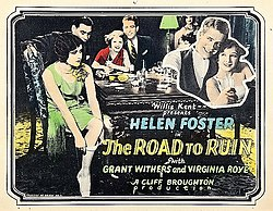 The Road to Ruin 1928 poster.jpg
