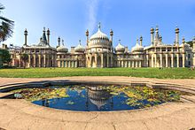 Der Royal Pavilion in Brighton (Quelle: Wikimedia)