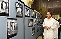 The Vice President, Shri M. Venkaiah Naidu visiting an exhibition, during the closing ceremony of 125th Birth Anniversary of Prof. P.C. Mahalanobis and the 12th Statistical Day celebration, in Kolkata on June 29, 2018.JPG