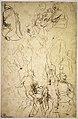 The Virgin Adored by Saints (recto); Study of the Torso Belvedere (verso) MET DR495.jpg