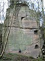 The White Tower at Grinshill quarry - geograph.org.uk - 685810.jpg