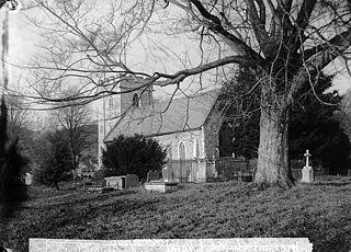 The church, Meifod (1888)