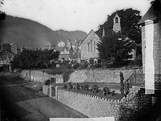 The church, Trefriw